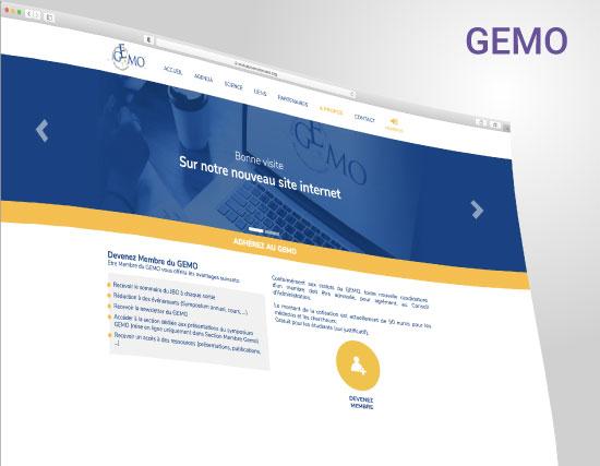 GEMO website